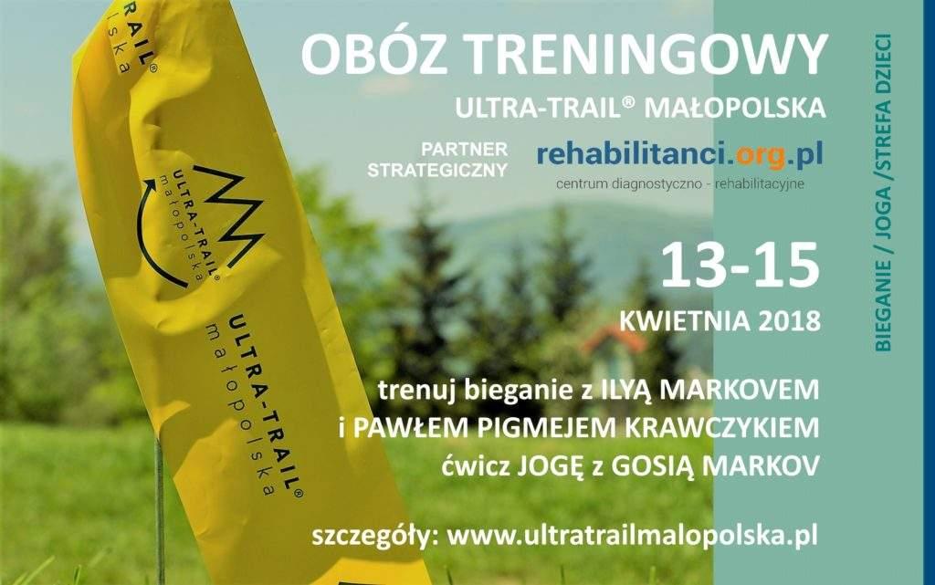 OBÓZ TRENINGOWY Ultra–Trail® Małopolska